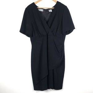 Liz Claiborne | Black Shortsleeved Dress